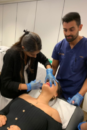 Dr-Amrit-teaching-lip-augmentation
